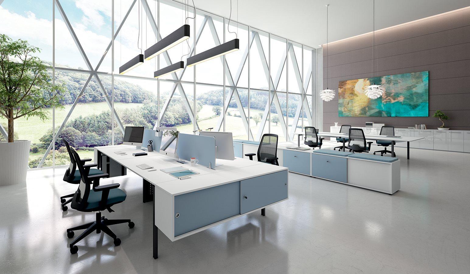 Operative 20 plan urban office arredamenti per ufficio for Scrivanie operative ufficio