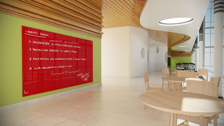 Fare Una Parete Di Lavagna : Idee originali per dipingere le pareti di casa grazia