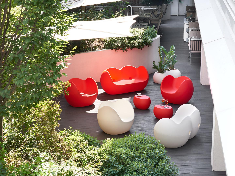 Vasi per esterno di design per ristoranti e hotel plan urban office